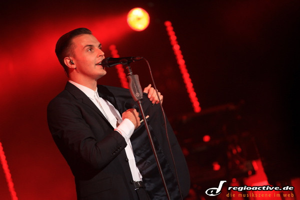 swr3 new pop festival - Fotos: Hurts live in Baden-Baden